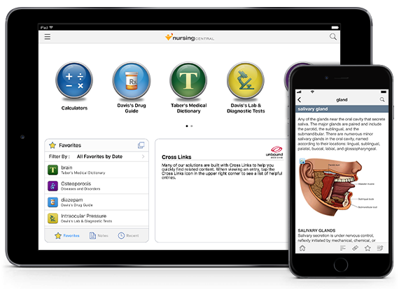 Nursing Central iOS iPhone iPad Android